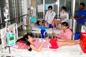 Tiền Giang có gần 2.400 trường hợp mắc bệnh sốt xuất huyết