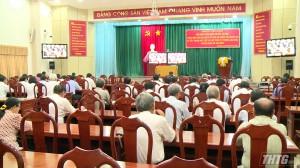 Tiền Giang tham dự hội nghị trực tuyến toàn quốc sơ kết 3 năm thực hiện Chỉ thị 05