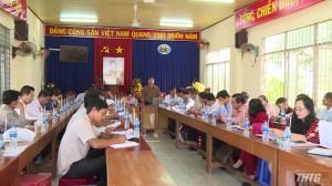 HĐND giám sát thực hiện các tiêu chí nông thôn mới ở xã Qươn Long