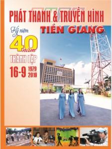 Kỷ yếu 40 năm thành lập Đài Phát thanh và Truyền hình Tiền Giang