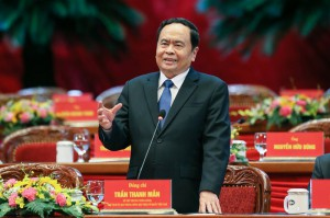 Ông Trần Thanh Mẫn tái cử chức Chủ tịch Ủy ban TƯ MTTQ Việt Nam