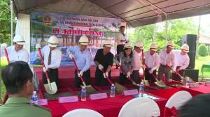 Khởi công xây dựng Bia ghi dấu ấn điểm xét xử đầu tiên ở Nam Bộ