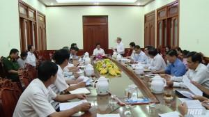 Lãnh đạo UBND tỉnh Tiền Giang họp Ban chỉ đạo phòng chống bệnh sốt xuất huyết