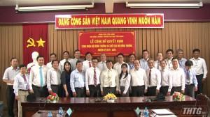 Trường Đại học Tiền Giang công bố Quyết định Hội đồng trường nhiệm kỳ 2019-2024