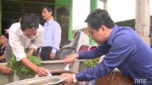 Phó Chủ tịch UBND tỉnh kiểm tra công tác phòng, chống dịch sốt xuất huyết