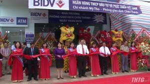 BIDV khai trương phòng giao dịch tại huyện Châu Thành