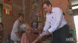 Hội Người Cao tuổi Tiền Giang thăm và tặng quà nhân kỷ niệm ngày Quốc tế Người cao tuổi