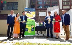 Sầu riêng Việt Nam chinh phục thị trường Australia