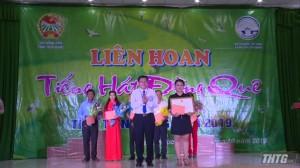 """Tân Phước đạt giải nhất liên hoan """"Tiếng hát đồng quê"""" cụm 1"""