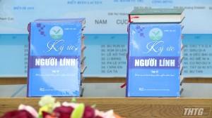 """Tỉnh ủy Tiền Giang tiếp đoàn công tác """"Ký ức người lính"""""""