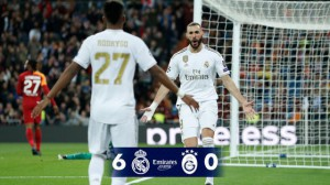Bảng A – Champions League: Real Madrid đại thắng Galatasaray