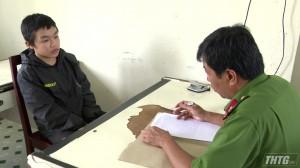 Công an huyện Chợ Gạo bắt các đối tượng trộm xe mô tô