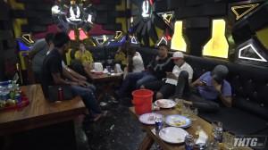 Công an Châu Thành bất ngờ kiểm tra Karaoke Phi Hùng 2, phát hiện nhiều trường hợp dương tính với ma túy