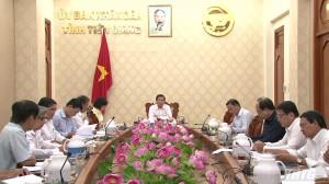 Tiểu ban Văn kiện (lĩnh vực kinh tế – xã hội) tổ chức họp lấy ý kiến đóng góp