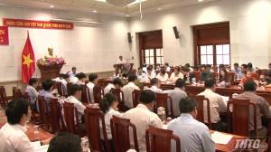 Tiền Giang tổ chức hội nghị về xử lý rác