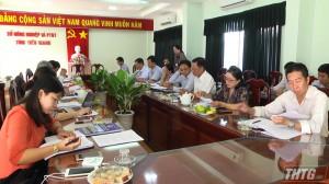 HĐND Tiền Giang giám sát việc ứng dụng CNTT trong giải quyết thủ tục hành chính tại Sở NN&PTNT