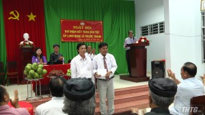 Bí thư Tỉnh ủy dự Ngày hội Đại đoàn kết toàn dân tộc