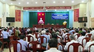 Tỉnh ủy Tiền Giang triển khai Quy định 205 của Bộ Chính trị