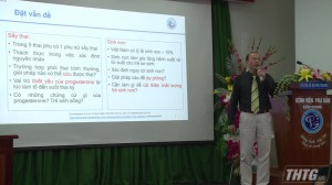 Bệnh viện Phụ sản Tiền Giang tổ chức hội nghị khoa học kỹ thuật
