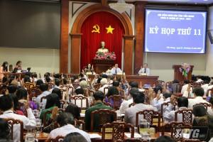 Bế mạc kỳ họp lần thứ 11 HĐND tỉnh Tiền Giang khóa IX