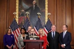 Hạ viện Mỹ công bố điều khoản luận tội Tổng thống Trump