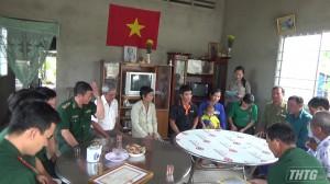 """Bộ đội Biên phòng Tiền Giang trao tặng """"Mái ấm biên cương"""" cho gia đình khó khăn về nhà ở"""