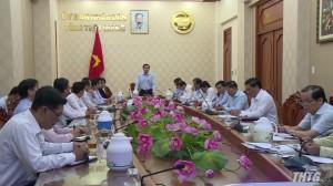Chủ tịch UBND tỉnh Tiền Giang tiếp và làm việc với các nhà đầu tư