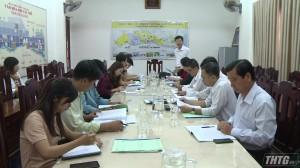 Đoàn công tác của Cục Văn hóa cơ sở làm việc tại Tiền Giang