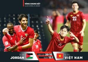 U23 Việt Nam – U23 Jordan: Đấu trí tranh ngôi đầu