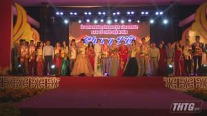 Hoàng Thị Duyên và Đỗ Đức Duy đạt giải nhất hội thi thanh lịch huyện Tân Phước năm 2020