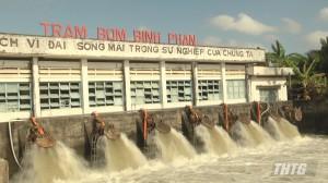 Lãnh đạo Sở NN&PTNT kiểm tra công tác phòng chống hạn mặn ngày đầu năm mới