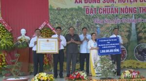 Xã Đồng Sơn, huyện Gò Công Tây ra mắt xã nông thôn mới