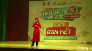 """Cuộc thi """"Tài năng trẻ Tiền Giang"""" lần thứ 2 bước vào vòng thi bán kết"""