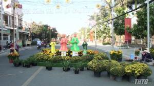 Đường hoa Xuân Thị xã Gò Công sẽ khai mạc ngày 26 Tết