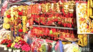 Thị xã Gò Công tổ chức các gian hàng phục vụ nhu cầu mua sắm Tết
