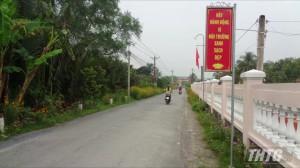 Tiền Giang họp kiểm tra tiến độ xây dựng huyện nông thôn mới