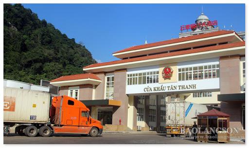 Cua khau Tan Thanh