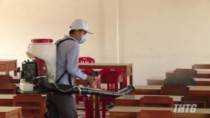 Học sinh Tiền Giang tiếp tục được nghỉ học đến 08-3 để phòng ngừa dịch bệnh Covid-19