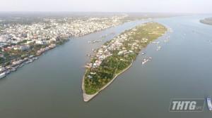 Nước mặn xuất hiện tại Vàm Trà Lọt – Cái Bè, cách cửa vào sông Tiền 120 km