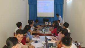 Trường THPT Nguyễn Đình Chiểu tập huấn giảng dạy trực tuyến