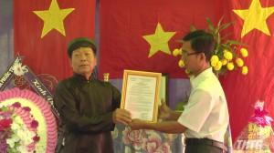 Địa điểm trận đánh Bờ Cộ được công nhận di tích lịch sử văn hóa cấp tỉnh