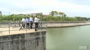 Phó Chủ tịch UBND tỉnh Tiền Giang làm việc với các nhà máy nước