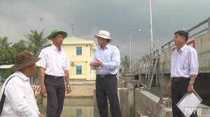 Chủ tịch UBND tỉnh Tiền Giang kiểm tra công tác phòng chống hạn mặn huyện Cai Lậy