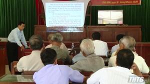 Hội thảo sản xuất lúa thích ứng biến đổi khí hậu