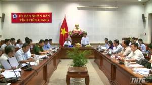 Tiền Giang tiếp tục triển khai công tác phòng chống dịch bệnh Covid-19