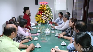 Lãnh đạo tỉnh Tiền Giang chúc mừng ngày Thầy thuốc Việt Nam