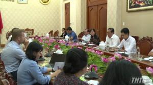 UBND tỉnh Tiền Giang tiếp và làm việc với tổ chức Liên minh Na Uy