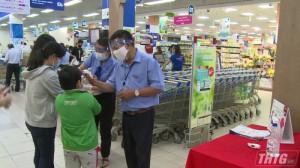 Các địa phương tỉnh Tiền Giang thực hiện quyết liệt công tác phòng chống dịch Covid-19