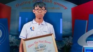 Nam sinh Tiền Giang giành giải nhất tuần Đường đến vinh quang sau 4 vòng đều dẫn đầu