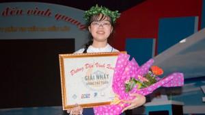 Nữ sinh THPT Trương Định giành vòng nguyệt quế cuộc thi tuần bằng chỉ số phụ